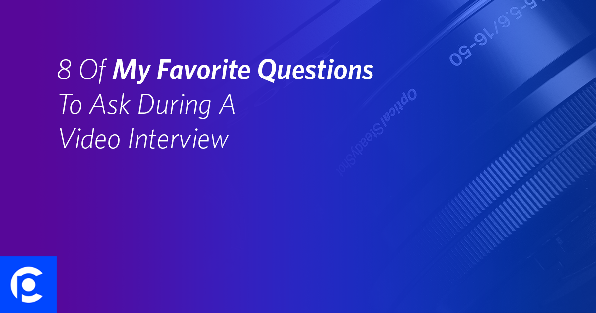 8 questions to ask during a video interview