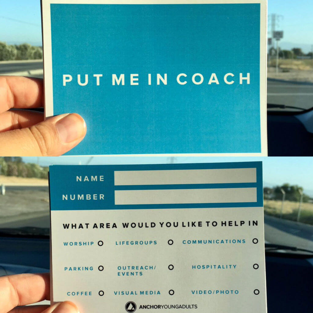 Put Me In Coach by Anchor Young Adults