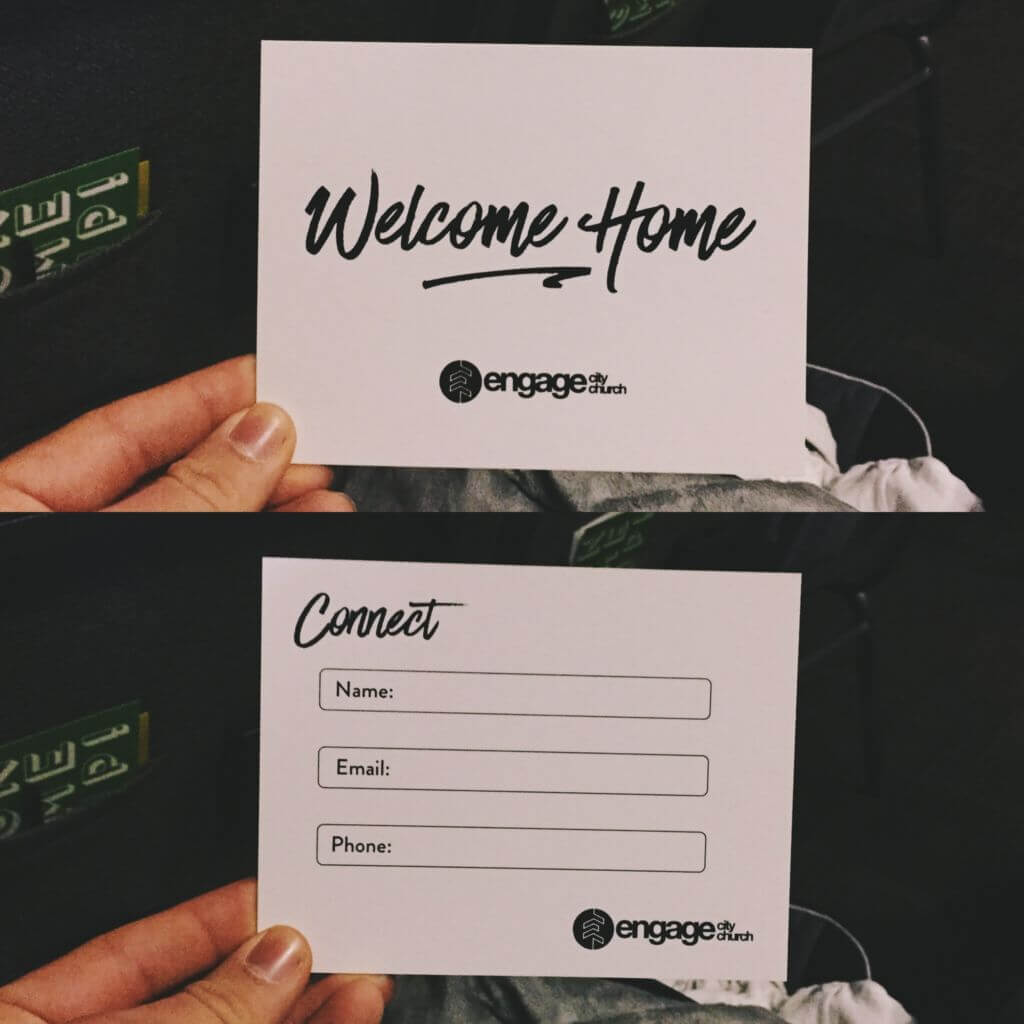7 perfect church connection card examples pro church tools welcome home by engage city church thecheapjerseys Images