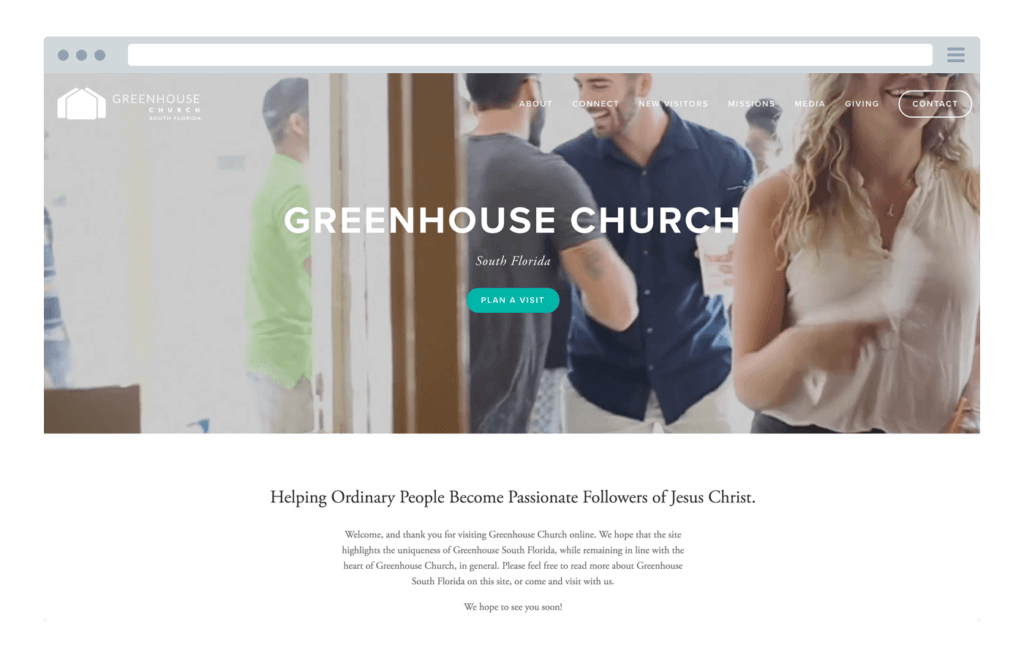 The top 25 best church websites of 2017 pro church tools greenhouse church malvernweather Images