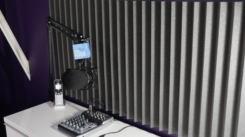 The Pro Church Podcast setup