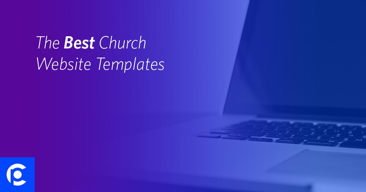 the best church website templates pro church tools