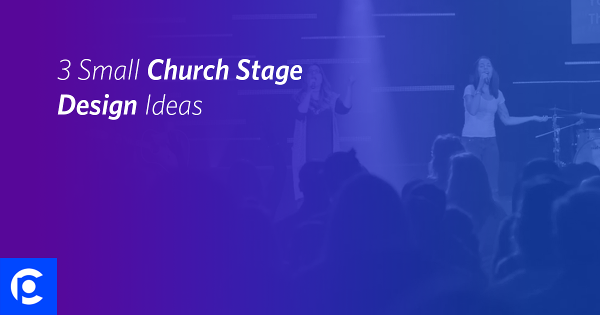3 small church stage design ideas pro church tools - Concert Stage Design Ideas