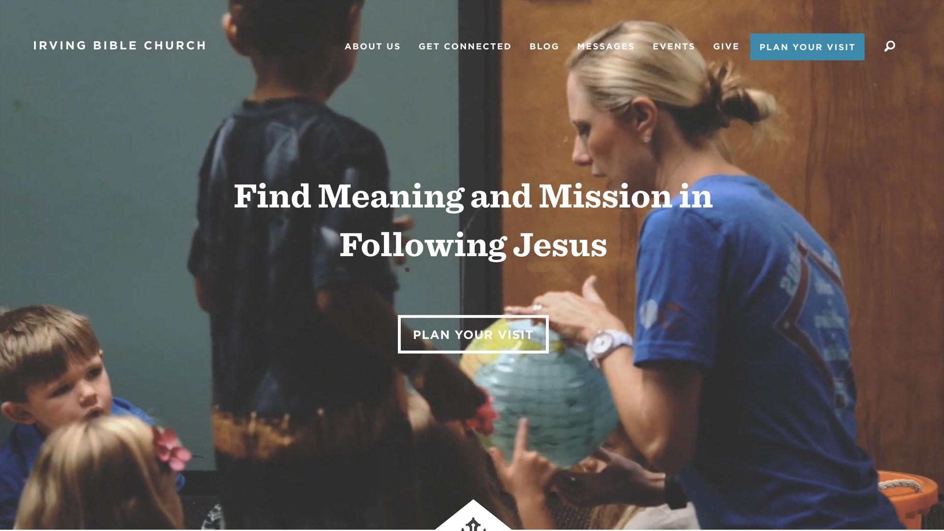 Irving Bible Church - http://www.irvingbible.org/