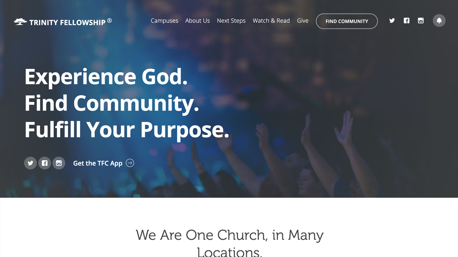Trinity Fellowship - https://tfc.org/
