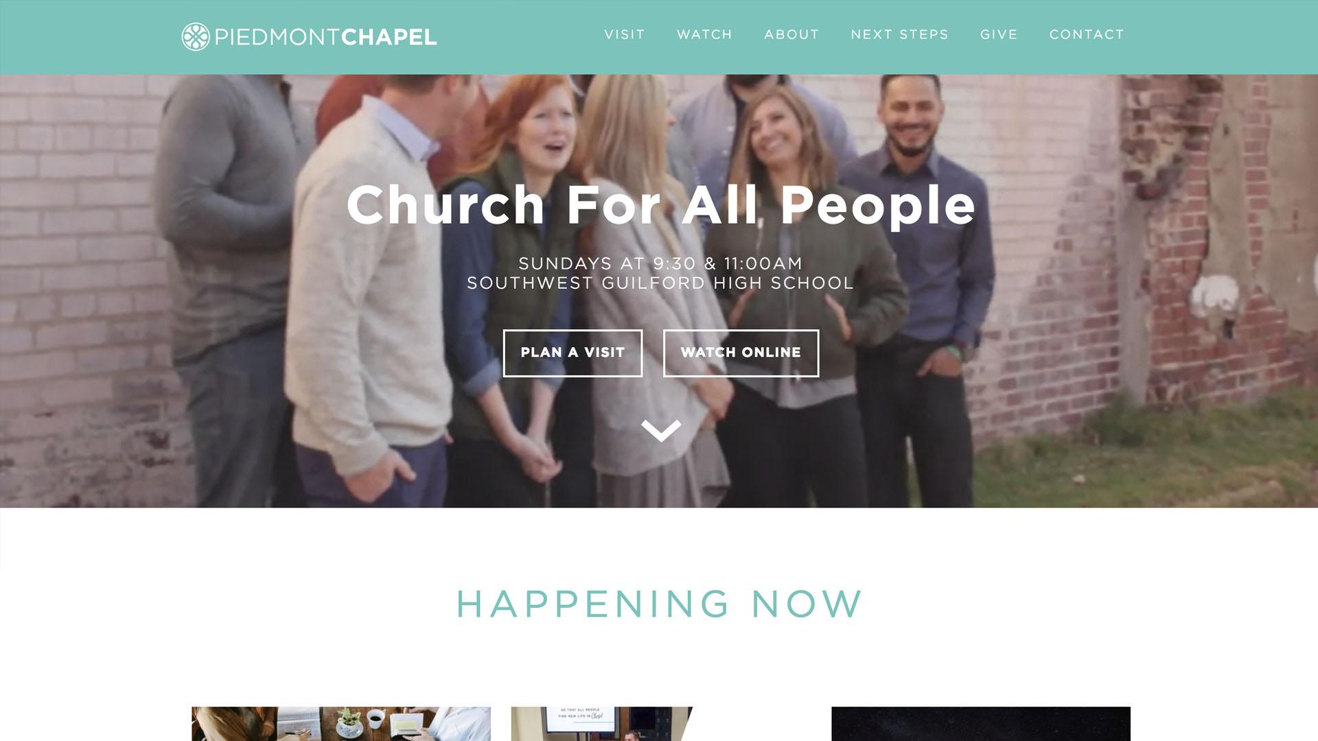 Piedmont Chapel - https://www.piedmontchapel.com/