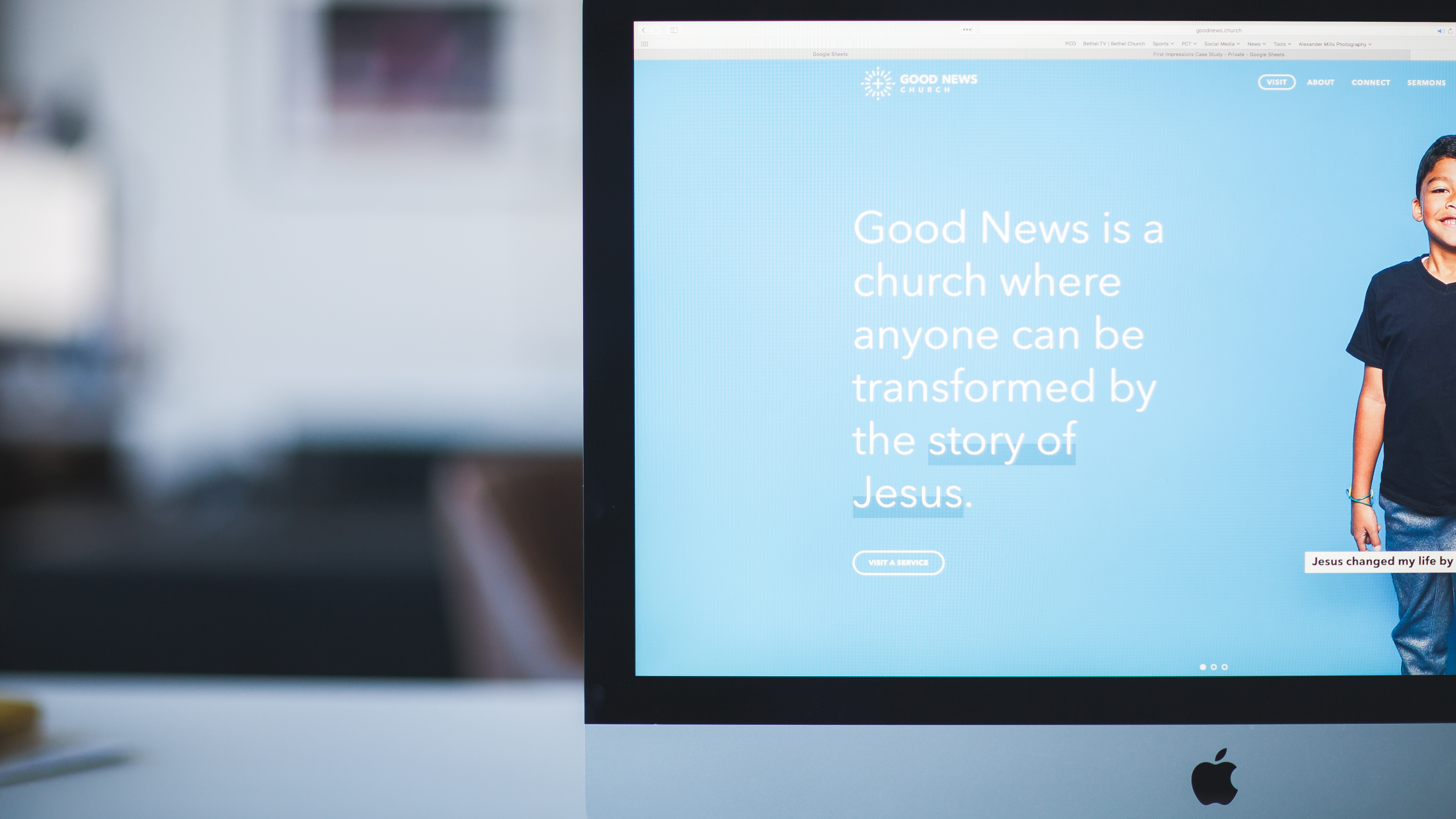 """Every person that lands on your church's website wants to know, """"What's in it for me? How can this church help me?"""""""